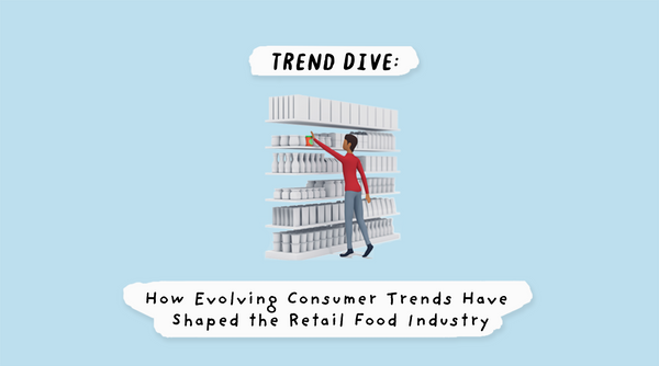 Trend Dive: How Evolving Consumer Trends Have Shaped the Retail Food Industry